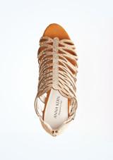 Chaussures de danse Harper Anna Kern 7,6 cm Fauve superieure. [Fauve]