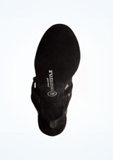 Chaussures de danse Aliza Rummos 7,6 cm Noir semelle. [Noir]