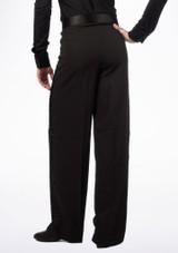 Pantalon de Danse Latine Move Andre pour Hommes Noir #3. [Noir]