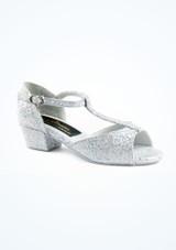 Chaussure de Salon Tappers & Pointers Chelsea 3cm Argent. [Argent]
