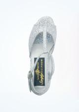 Chaussure de Salon Tappers & Pointers Chelsea 3cm Argent #2. [Argent]