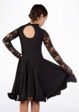 Robe danse de salon pour filles Move Saskia Noir. [Noir]