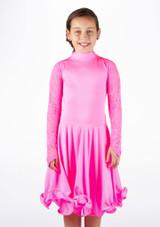 Robe danse de salon pour filles Move Saskia Rose. [Rose]