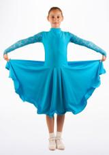 Robe danse de salon pour filles Move Saskia Bleue. [Bleue]