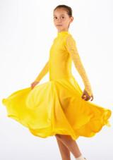 Robe danse de salon pour filles Move Saskia Jaune. [Jaune]