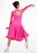Robe danse de salon pour filles Move Saskia Rose #2. [Rose]