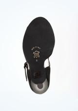 Chaussure de Danse Salsa Nueva Epoca Nora 9cm Noir #3. [Noir]