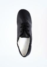 Chaussures de jazz basiques Alegra bi-semelle Noir superieure. [Noir]