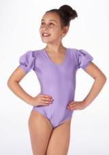 Justaucorps Brillant pour filles Alegra Rosalie Violet avant #2. [Violet]