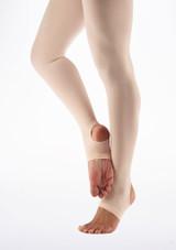 Collants Ballet Move Enfants avec etriers Rose. [Rose]