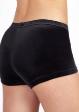Short en Velours Taille Basse The Zone Noir #2. [Noir]