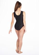 Justaucorps de gymnastique sans manches Spark pour filles Alegra Rose #2. [Rose]