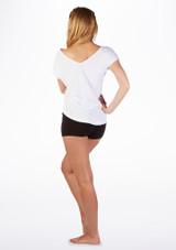 T-shirt de Danse So Danca Blanc #2. [Blanc]