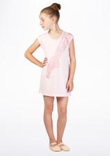Robe T-shirt de Danse So Danca Rose. [Rose]