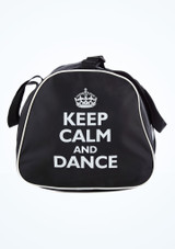 Sac fourre-tout Keep Calm and Dance Tappers & Pointers Noir #2. [Noir]
