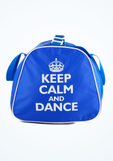 Sac fourre-tout Keep Calm and Dance Tappers & Pointers Bleue #2. [Bleue]