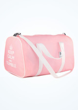 Sac fourre-tout Keep Calm and Tumble de Tappers & Pointers Rose image principale. [Rose]