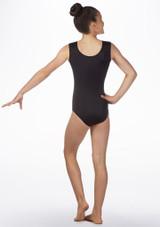 Justaucorps gymnastique sans manches pour filles Alegra Spirit Rose arriere. [Rose]