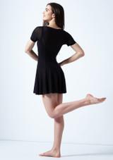 Robe lyrique a manches courtes Ceres Move Dance Noir arriere. [Noir]