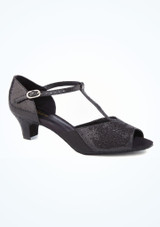 Chaussure de Salon So Danca Laniere en T 3,8cm Noir. [Noir]