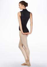 Justaucorps de danse Gaynor Minden Moxie Noir avant #2. [Noir]