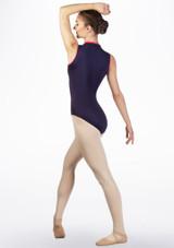 Justaucorps de danse Gaynor Minden Moxie Bleue avant #2. [Bleue]