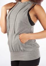Dincwear Sweat Sans Manches Femmes Muscle Grey [Gris]