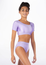 Haut de Danse Brilliant Alegra Odele Violet avant.