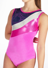 Justaucorps de gymnastique GYM30 Tappers & Pointers Rose #3. [Rose]