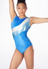 Justaucorps de gymnastique GYM30 Tappers & Pointers Bleue. [Bleue]