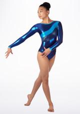 Justaucorps de gymnastique GYM34 Tappers & Pointers Bleue. [Bleue]
