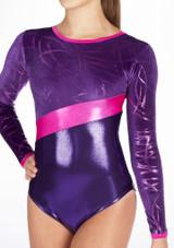 Justaucorps de gymnastique GYM32 Tappers & Pointers Violet #3.