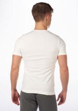 T-shirt Sans Couture Move Filipo pour Hommes Blanc #2. [Blanc]