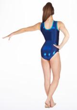 Justaucorps de gymnastique GYM33 Tappers & Pointers Bleue #2. [Bleue]