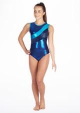 Justaucorps de gymnastique GYM33 Tappers & Pointers Bleue. [Bleue]