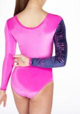Justaucorps de gymnastique GYM31 Tappers & Pointers Rose #3. [Rose]