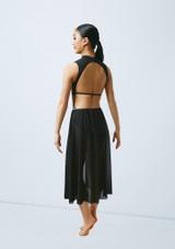 Weissman Laser Cut Dress Noir arriere. [Noir]