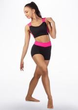 Brassiere fitness Dansez Noir-Rose arriere. [Noir-Rose]