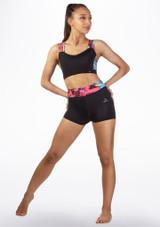 Brassiere fitness Dansez Multicolore avant.