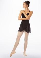 Jupe de Danse Portefeuille Mi-longue Move Tilly Noir arriere. [Noir]