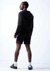Pull à capuche zippé pour hommes Move Dance Pulse Noir  Arrière-1 [Noir ]