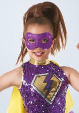 Weissman Glitter Mask Violet avant. [Violet]