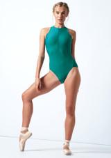 Justaucorps de danse zippé Move Dance Penelope Sarcelle  Avant-1 [Sarcelle ]