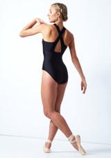 Justaucorps de danse zippé Move Dance Penelope Rose  Avant-1T [Rose ]