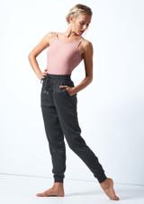 Jogging de danse jersey Move Dance Savannah Fusain  Avant-1 [Fusain ]
