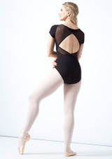 Justaucorps de danse dos croisé tressage Bloch Vidalia Nero  Arrière-1 [Nero ]