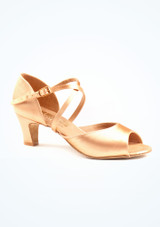 Chaussure de Danse Latine & Salon Freed Laura 5cm Fauve. [Fauve]