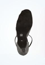 Chaussure de Danse Diamant Anja 6cm Noir #3. [Noir]