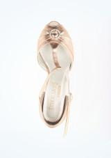 Chaussures danse de salon Dancesteps Saturn 4cm Rose #2. [Rose]