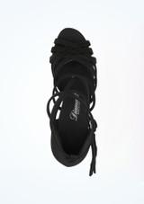 Chaussure de Danse Diamant Simone 6,5cm Noir #2. [Noir]